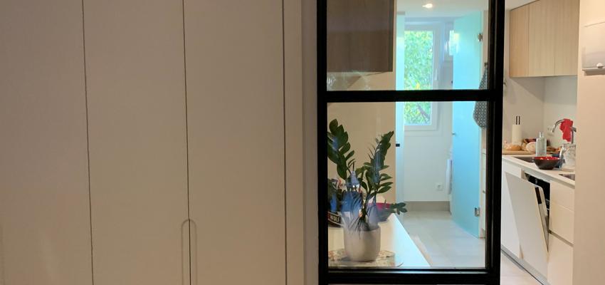 Dormitorio, Pasillo, Cocina Estilo moderno Color blanco  diseñado por Fernando lopez   Gremio   Copyright Fernando lopez