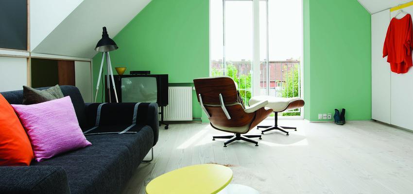 Dormitorio style contemporaneo color verde, blanco, gris, negro  diseñado por Valentine | Marca colaboradora | Copyright Royalty Free