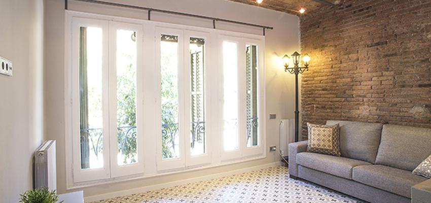 Salon Estilo contemporaneo Color marron, blanco  diseñado por grupoinventia | Arquitecto Técnico | Copyright Grupo Inventia