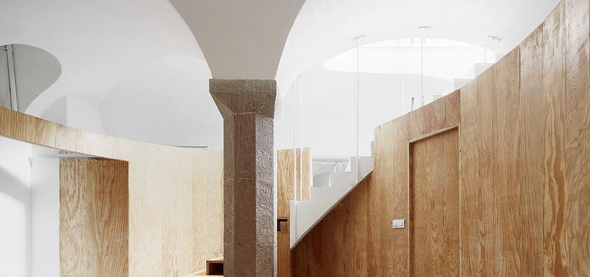 Loft Estilo contemporaneo Color marron, beige, blanco, negro  diseñado por Raúl Sánchez Architects   Arquitecto
