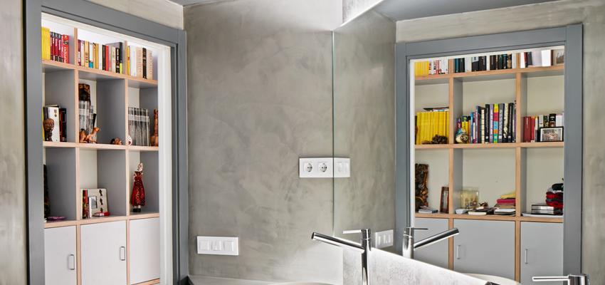 Baño Estilo contemporaneo Color marron, blanco  diseñado por Raúl Sánchez Architects | Arquitecto | Copyright Jose Hevia