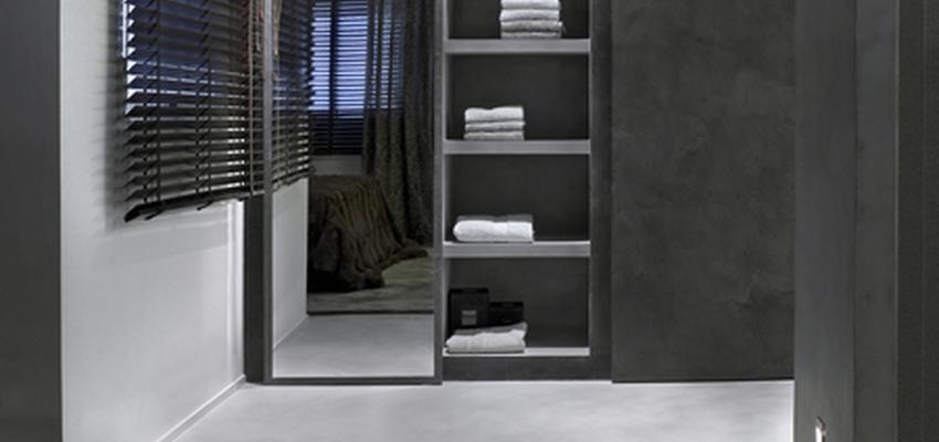 Baño style contemporaneo color gris, gris  diseñado por tecnocemento | Marca colaboradora | Copyright Tecnocemento