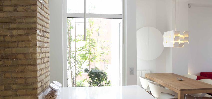 Loft Estilo moderno Color beige  diseñado por Marcos Abad Porzelt   Arquitecto   Copyright Marcos Abad Porzelt