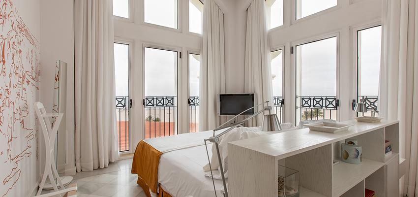 Dormitorio Estilo eclectico Color beige, blanco  diseñado por Carmen Agulló. Fotógrafía. | Marca colaboradora