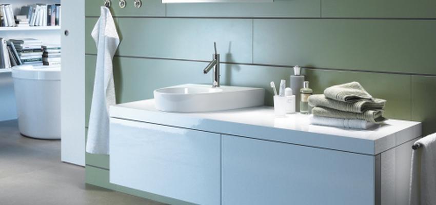 Baño style contemporaneo color verde, blanco  diseñado por DURAVIT   Marca colaboradora   Copyright Copyright Duravit AG