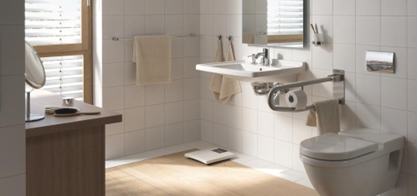 Baño style contemporaneo color marron, marron, blanco  diseñado por DURAVIT | Marca colaboradora | Copyright Copyright Duravit AG