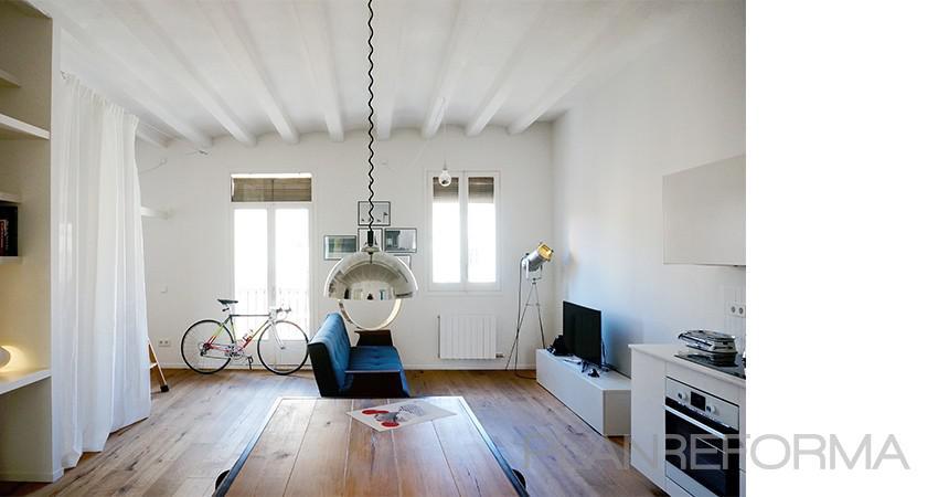 Comedor salon estilo moderno color marron blanco negro for Comedor estilo moderno