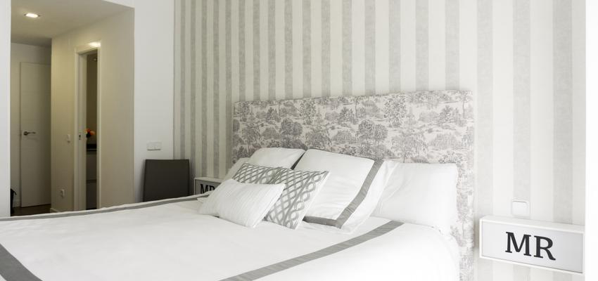 Dormitorio Estilo moderno Color blanco, gris  diseñado por emmme studio | Arquitecto | Copyright emmme studio