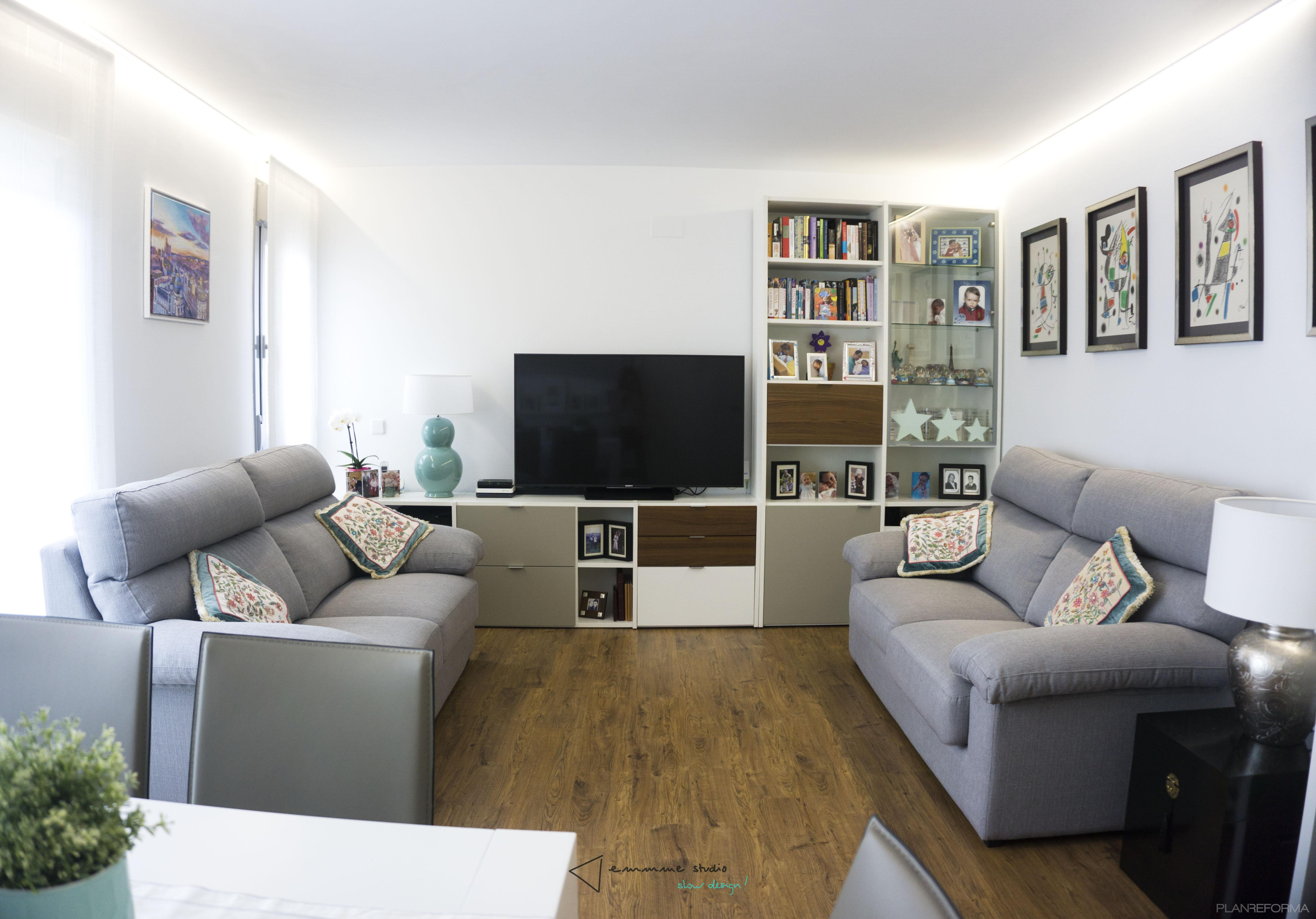 Salon estilo moderno color blanco - Emmme studio ...