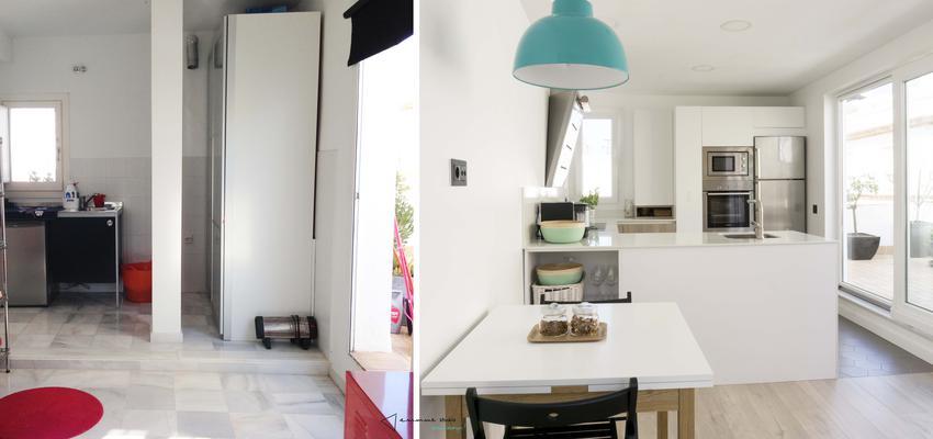 Cocina Estilo mediterraneo Color blanco  diseñado por emmme studio | Arquitecto | Copyright emmme studio