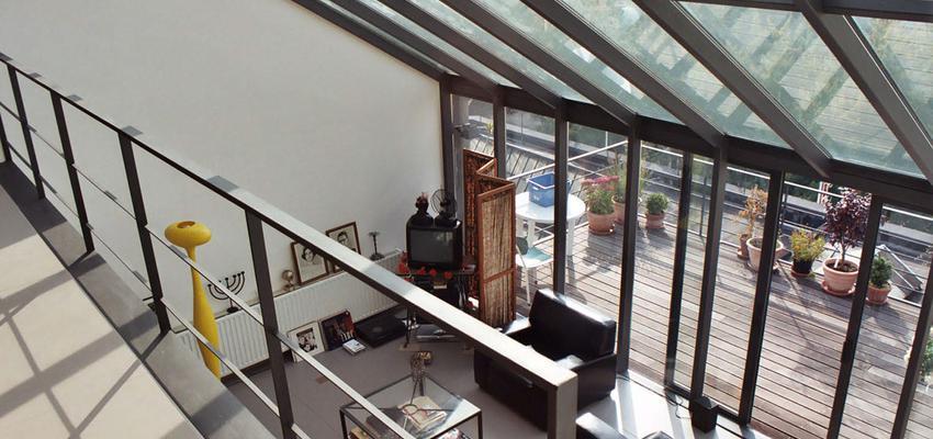Balcon, Salon, Exterior Estilo contemporaneo Color blanco  diseñado por ONYON huerto creativo   Arquitecto   Copyright ONYON huerto creativo