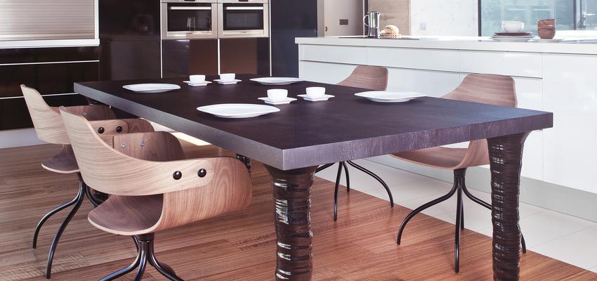 Estudio, Comedor, Cocina Estilo contemporaneo Color beige, gris, negro  diseñado por BD Barcelona Design | Marca colaboradora | Copyright BD Barcelona Design