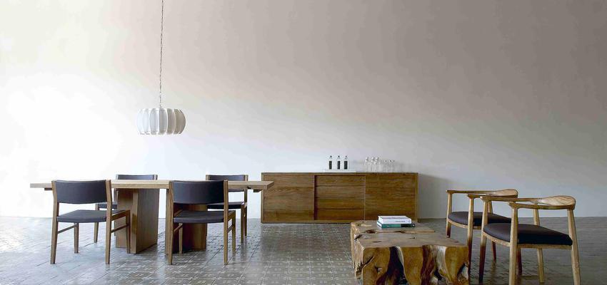 Comedor style contemporaneo color amarillo, azul, marron  diseñado por deteca-barcelona | Marca colaboradora