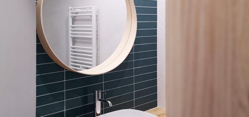 Baño Estilo mediterraneo Color blanco  diseñado por Oficina Urbana | Arquitecto | Copyright Renato Pucci