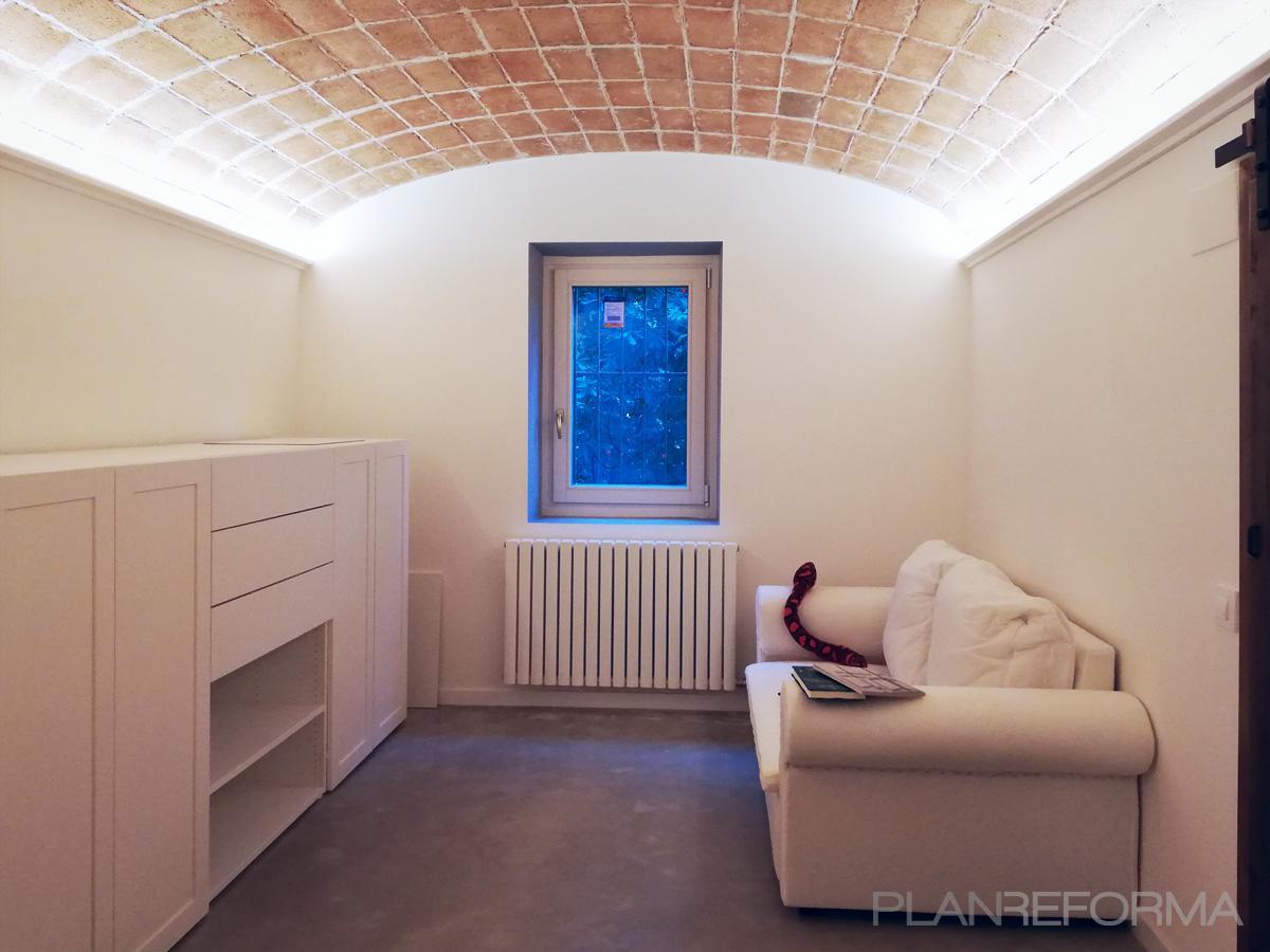 Dormitorio Estilo mediterraneo Color blanco  diseñado por Oficina Urbana   Gremio   Copyright Renato Pucci