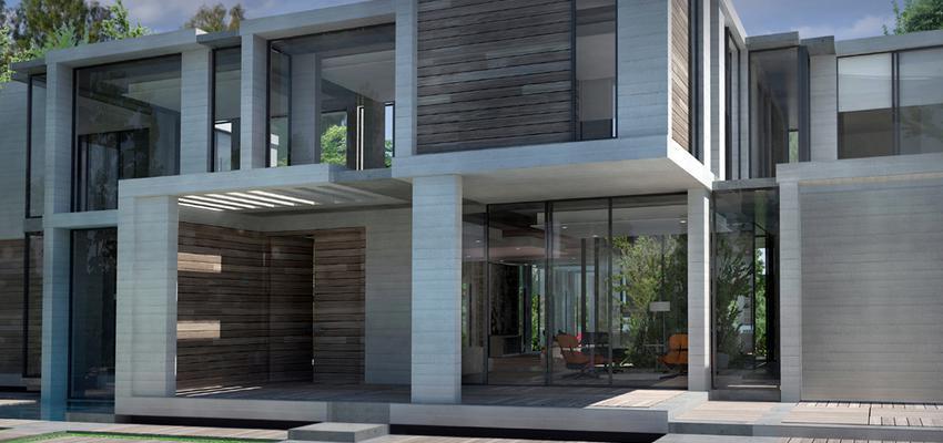 Piscina, Exterior, Jardin Estilo moderno Color gris  diseñado por UP PROYECTOS Y CONSTRUCCIONES   Gremio   Copyright UP PROYECTOS Y CONSTRUCCIONES