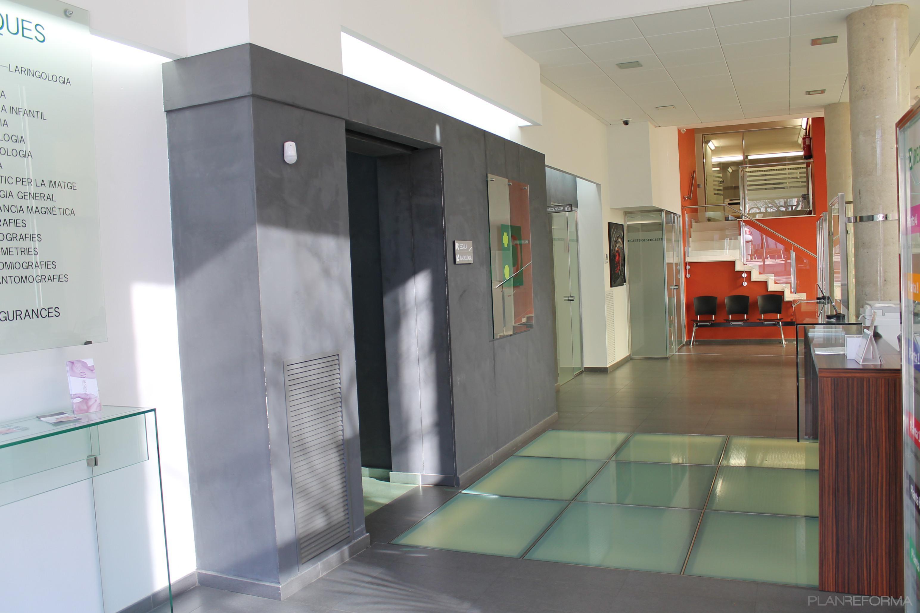 Recibidor vestibulo oficina estilo contemporaneo color Estilo contemporaneo arquitectura