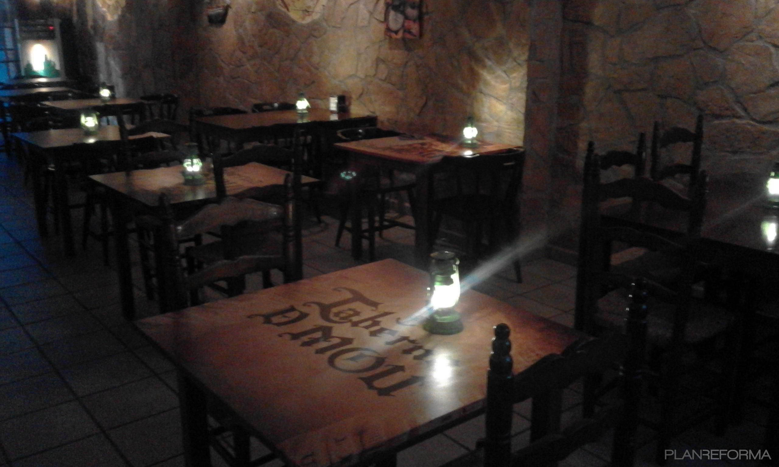 Bar style rustico color azul bronce - Decorador de fotos ...
