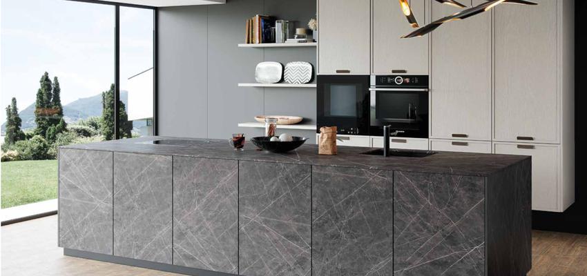 Cocina Estilo contemporaneo Color rojo, rosa, blanco  diseñado por Taracea Interiorismo | Gremio | Copyright iberkitchens