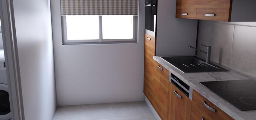 Cocina Estilo contemporaneo Color gris, plateado, bronce  diseñado por REFORM4DO | Gremio | Copyright REFORM4DO