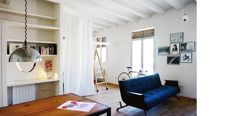 Comedor, Salon Estilo moderno Color marron, blanco, negro  diseñado por mcd/studio | Arquitecto | Copyright soy propietario de la imagen