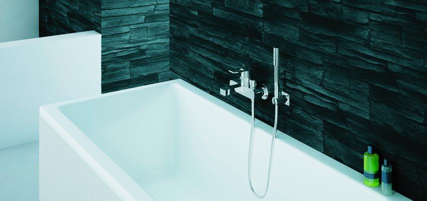 Baño style moderno color blanco, gris  diseñado por GROHE | Marca colaboradora | Copyright GROHE