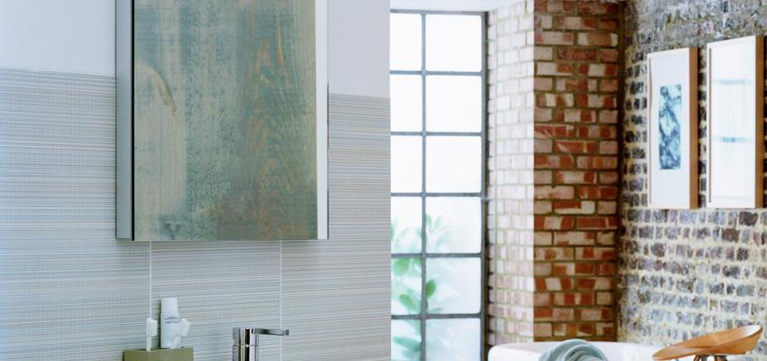 Baño style moderno color beige, marron, marron, blanco, gris  diseñado por GROHE | Marca colaboradora | Copyright GROHE