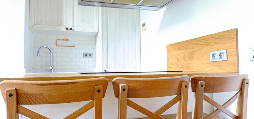 Comedor, Cocina Estilo vintage Color beige, blanco, bronce  diseñado por Estudi de Arquitectura & Eficiencia Energètica GPA S.L   Gremio   Copyright Arquitectura & Eficiencia Energètica GPA S.L