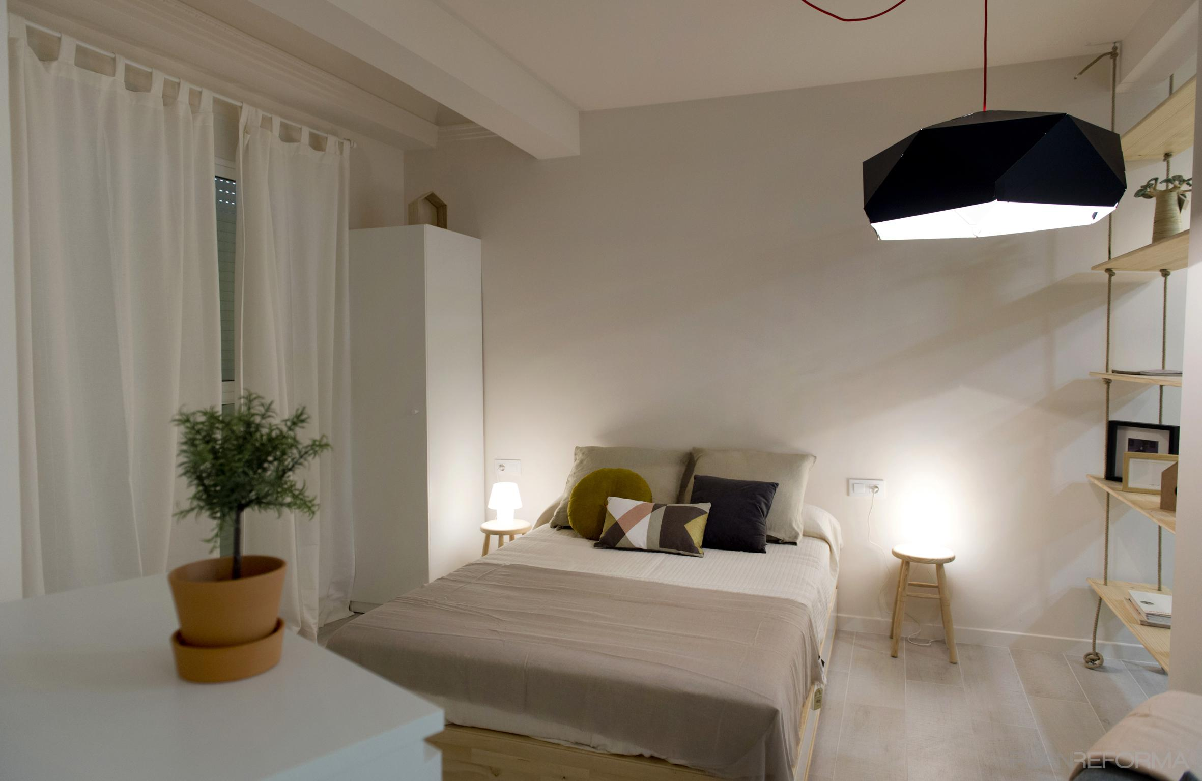 Dormitorio estilo moderno color marron beige marron - Dormitorio beige ...