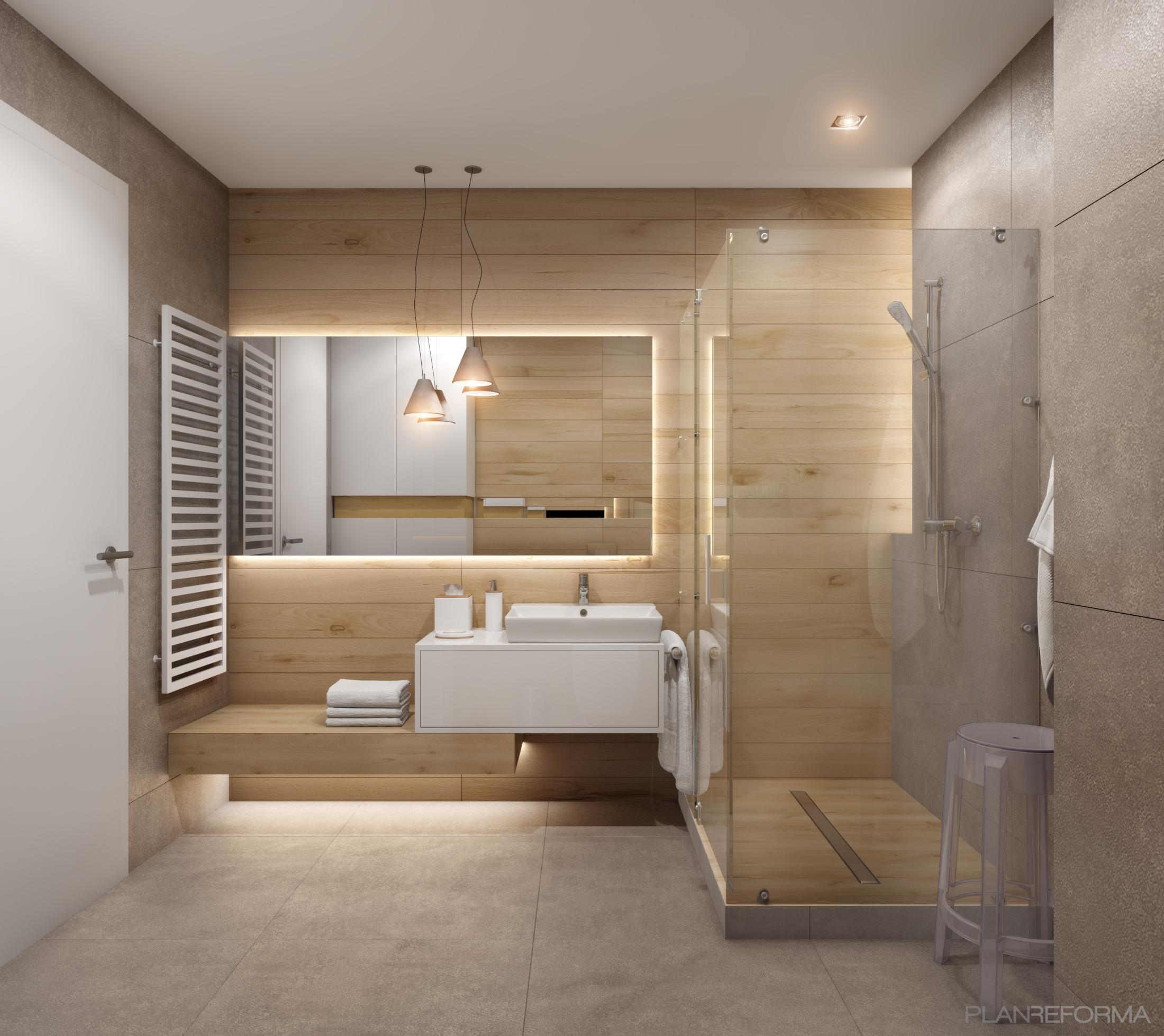 Baño Estilo clasico Color verde  diseñado por Css Proyectos y Obras | Gremio | Copyright Css Proyectos y Obras