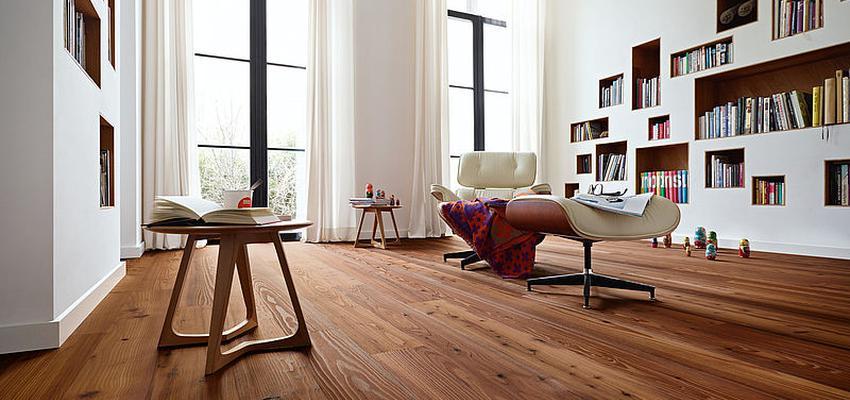 Comedor, Sala de la TV, Salon style moderno diseñado por PARQUÉ MEISTER | Marca colaboradora | Copyright Meister 2014