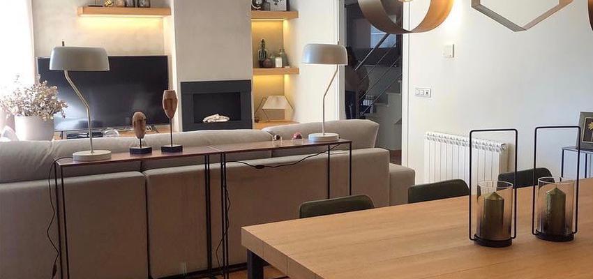 Comedor Estilo moderno Color beige, beige, marron  diseñado por Espacios con Diseño   Gremio   Copyright Copyright, Espacios con Diseño