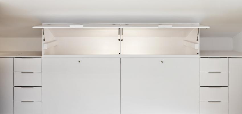 Dormitorio, Vestidor Estilo moderno Color blanco  diseñado por Estudi de Arquitectura & Eficiencia Energètica GPA S.L | Arquitecto Técnico