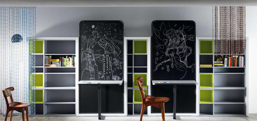 Dormitorio, Niños style moderno color verde, marron, gris, negro  diseñado por MUEBLES LAGRAMA   Marca colaboradora   Copyright Lagrama
