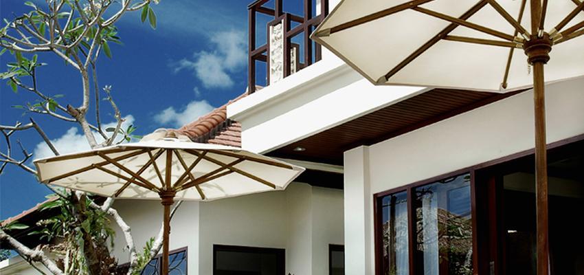 Piscina, Exterior Estilo oriental Color turquesa, marron, marron, beige, blanco  diseñado por ASP arquitectos | Arquitecto | Copyright ASParquitectos
