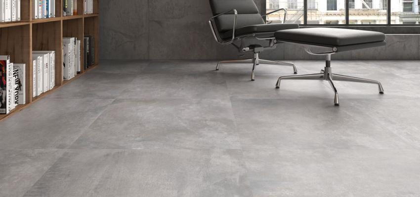 Oficina style contemporaneo color marron, gris  diseñado por keraben | Marca colaboradora | Copyright Keraben