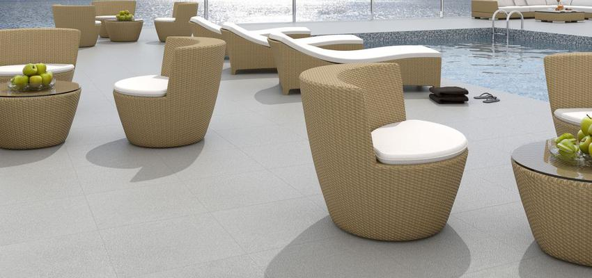 Terraza style contemporaneo color marron, blanco, gris  diseñado por keraben | Marca colaboradora | Copyright Keraben