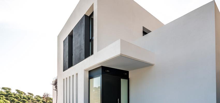 Recibidor Estilo moderno Color blanco  diseñado por cliparquitectes   Arquitecto   Copyright cliparquitectes