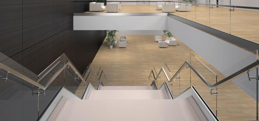 Sala de la TV, Escalera style moderno color beige, blanco, gris, plateado  diseñado por Comenza | Marca colaboradora | Copyright Comenza