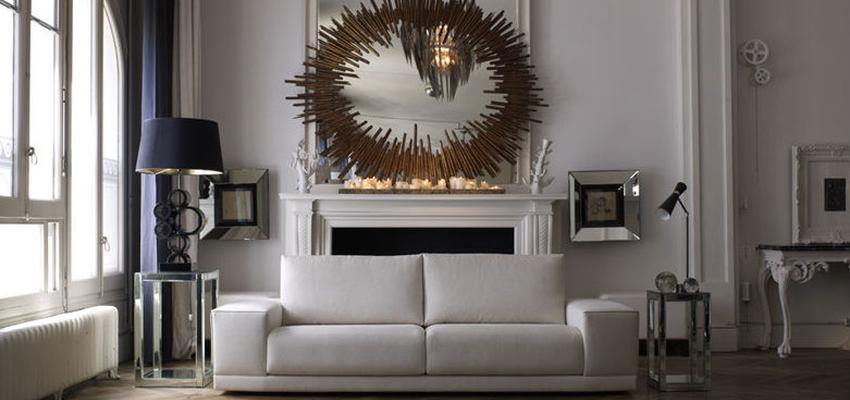 Sala de la TV style clasico color blanco, gris, gris, bronce  diseñado por MUEBLES TEMASV | Marca colaboradora | Copyright Temasv