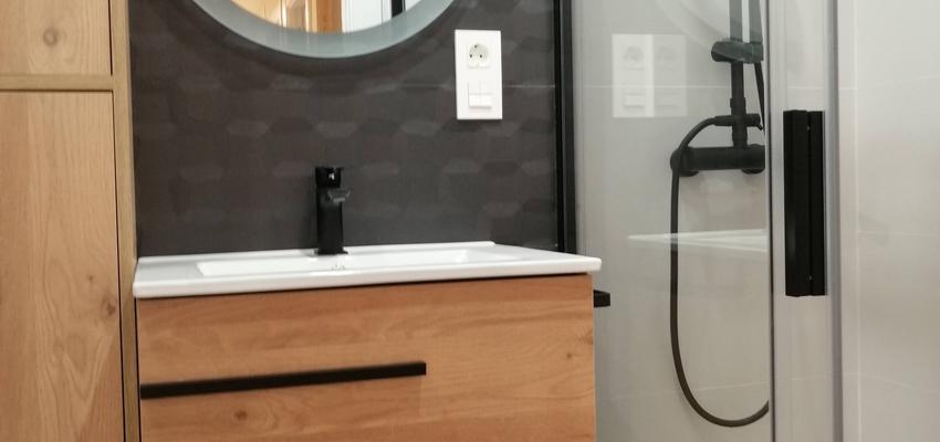 Baño Estilo moderno Color marron  diseñado por AKTUAL Diseño y Obra   Gremio   Copyright AKTUAL