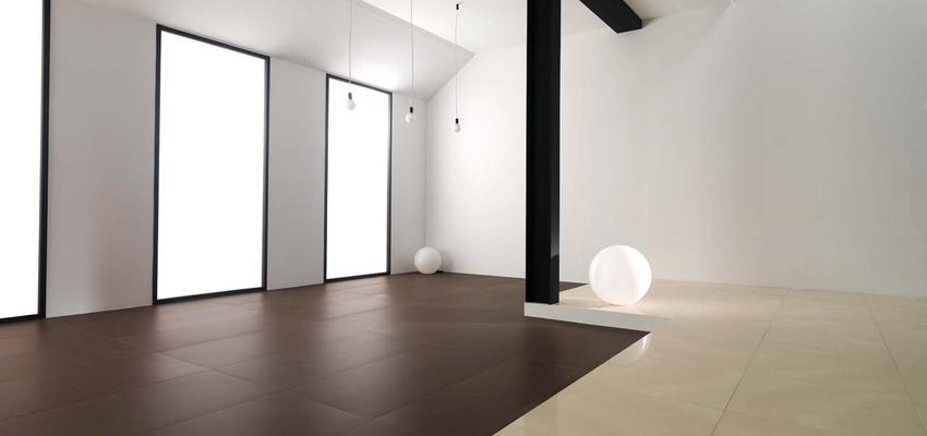 Tienda style moderno color beige, marron, blanco, negro  diseñado por PORCELANOSA | Marca colaboradora | Copyright porcelanosa