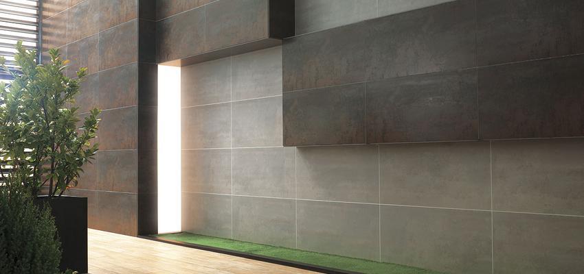 Estilo moderno Color marron, verde, beige, marron  diseñado por PORCELANOSA | Marca colaboradora | Copyright porcelanosa