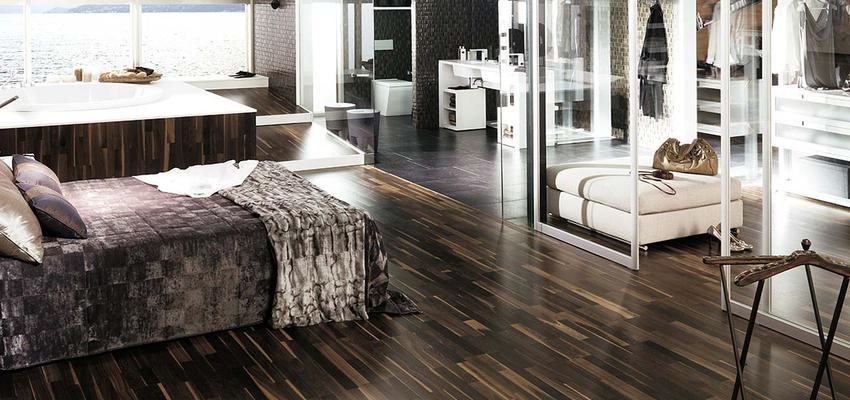 Baño Vestidor Arquitectura:Baño, Dormitorio, Vestidor style contemporaneo color marron, blanco