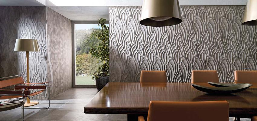 Comedor, Sala de la TV, Salon style contemporaneo color marron, verde, gris, gris  diseñado por PORCELANOSA | Marca colaboradora | Copyright porcelanosa
