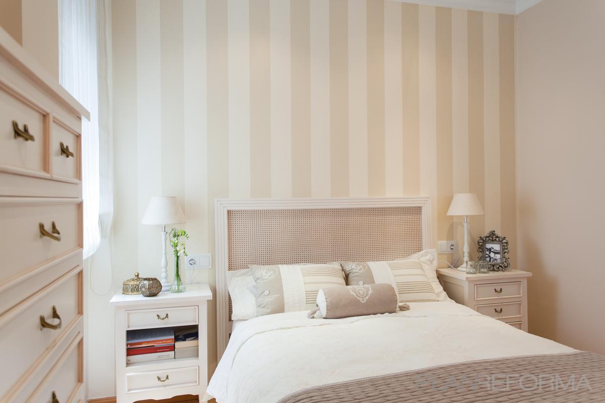 Dormitorio style clasico color beige marron blanco - Dormitorios en color blanco ...