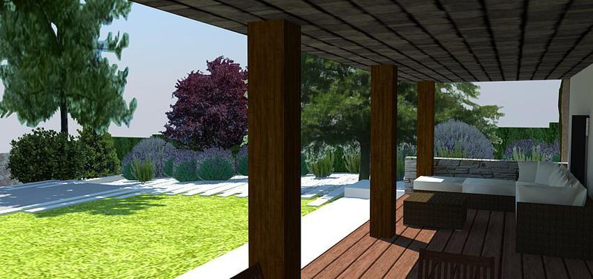 Patio, Jardin style contemporaneo color marron, blanco  diseñado por Eva Vidal Mateu - Taller de Paisatge | Paisajista