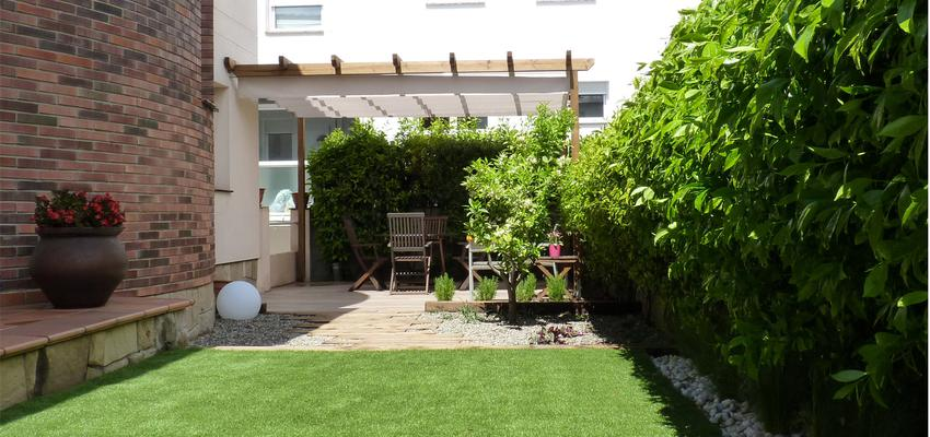 Exterior, Jardin Estilo mediterraneo Color verde, marron, blanco  diseñado por Eva Vidal Mateu - Taller de Paisatge | Paisajista | Copyright www.tallerdepaisatge.com