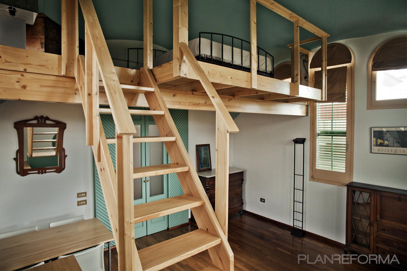Dormitorio, Salon style moderno color turquesa, marron, marron, blanco  diseñado por mobla manufactured architecture   Gremio