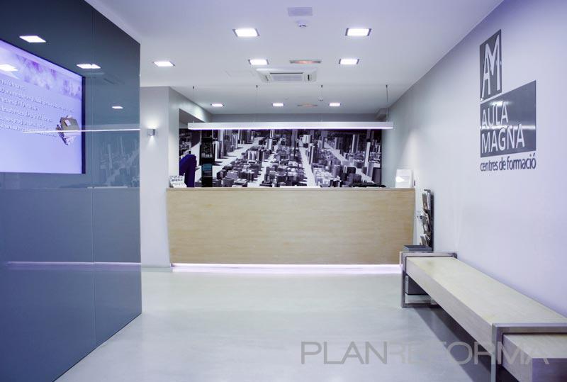 Recibidor Oficina Sala De Conferencias Style Moderno